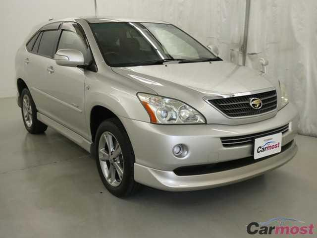 2007 Toyota Harrier Hybrid 04242434